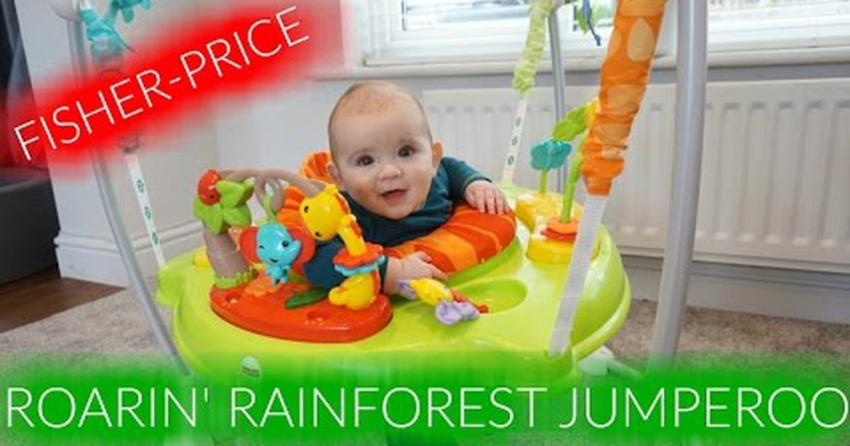 9a2523305 Fisher-price roarin  rainforest jumperoo review