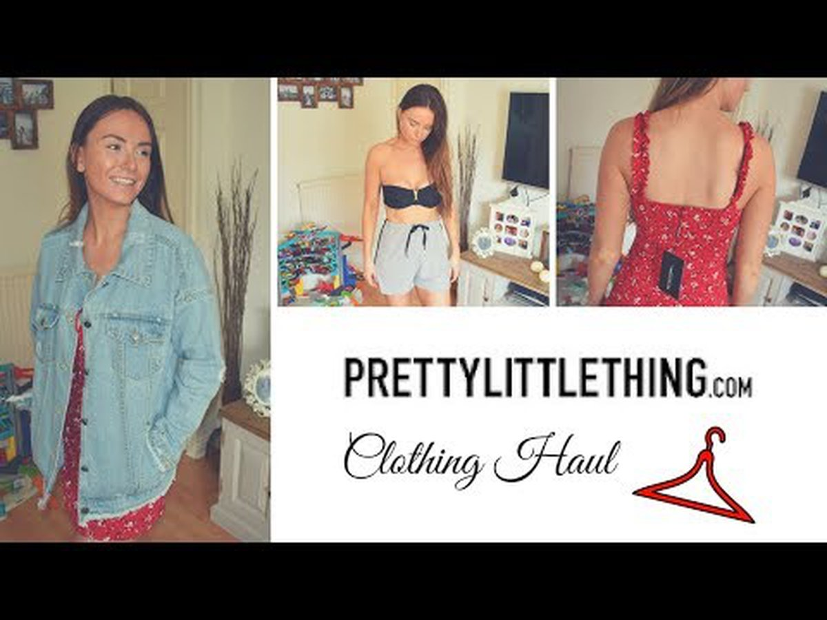 3fde9617203 Pretty little thing clothing haul