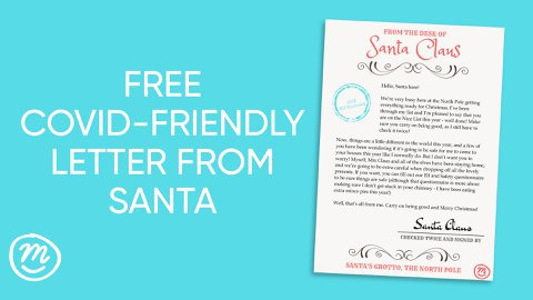 Of Course I M Still Coming Printable Covid Friendly Letter From Santa Channel Mum